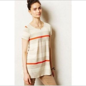 Anthropologie Striped Swing Tee